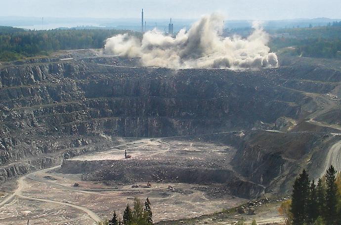 Minerals deposit
