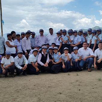 Yara Perú realizó entrega de donación de equipos de cómputo para escolares de Chirinos