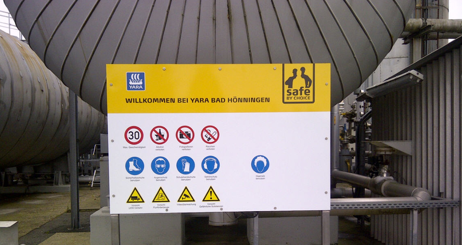 Safe by Choice sign at Bad Hönningen