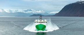 Exhaust gas treatment in marine vessels