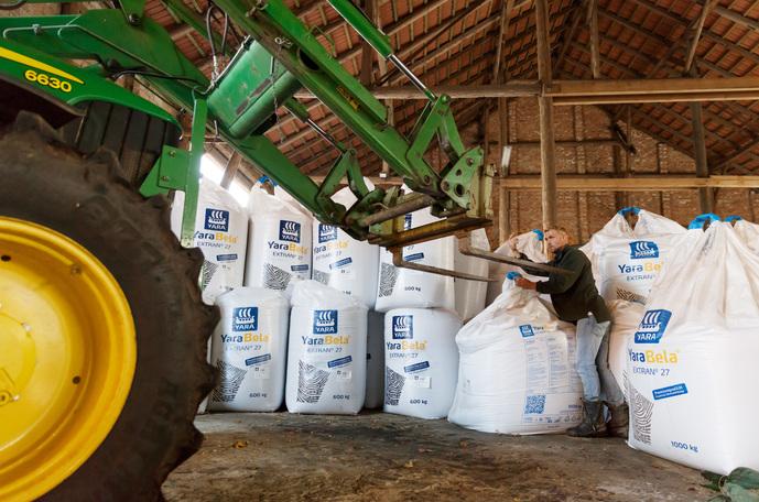 Yara fertilizers in Ukraine