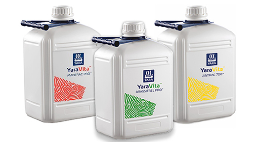 YaraVita - Mikroeleme(ke)t tartalmazó lombtrágyacsalád