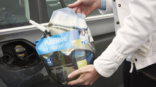 AdBlue for passenger cars
