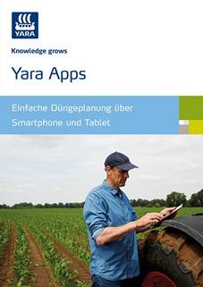 Titel Broschüre Yara Apps