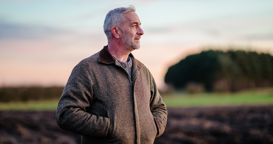 Rob Ramsay is proud to be a farmer. Here is why he is a fertiliser spreading pro