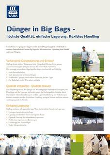 Titel Leaflet Dünger in Big Bags