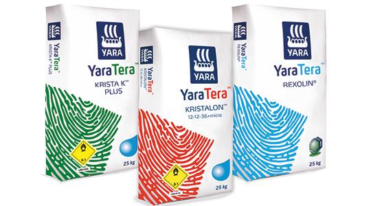 YaraTera - Vízoldható műtrágyacsalád