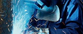 Welding with Yara product
