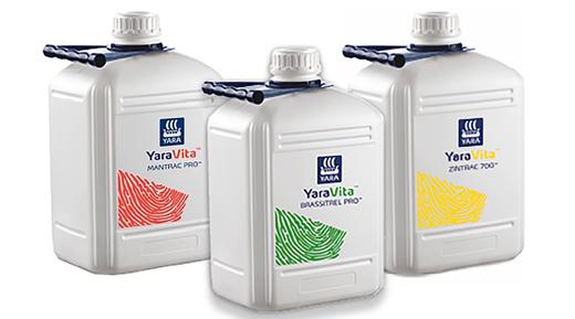 Reciclaje de envases de productos YaraVita