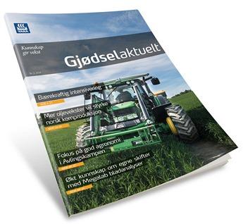Gjødselaktuelt 2-2014 forside høstnummer PDF