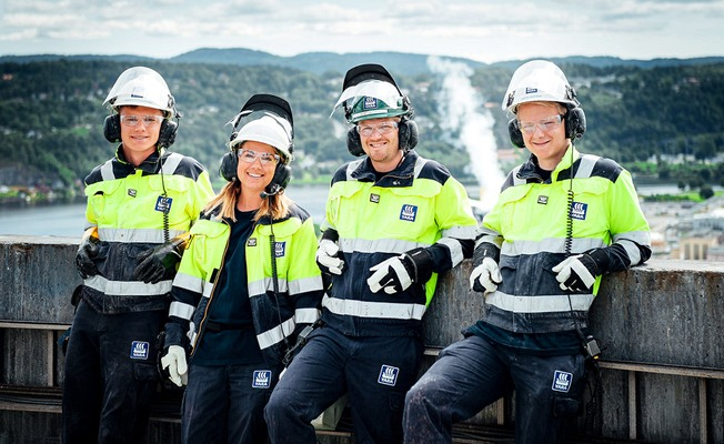 Operators in Yara Porsgrunn