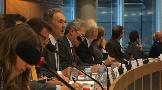 Yves Bonte at EU Parliament