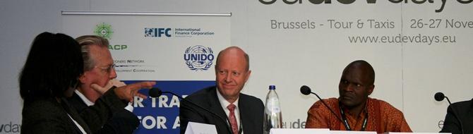 Haslestad at European Development Days