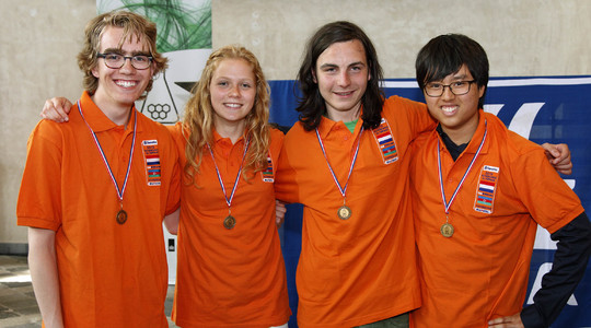 Chemistry students Team Netherlands