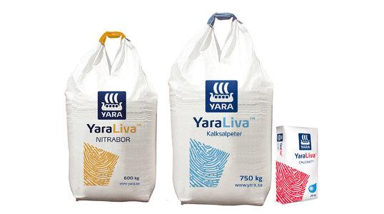 YaraLiva produktfamilj