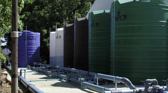 Sistema completo de fertirrigación