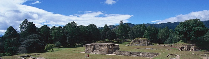 Temple ruins, Guatemala