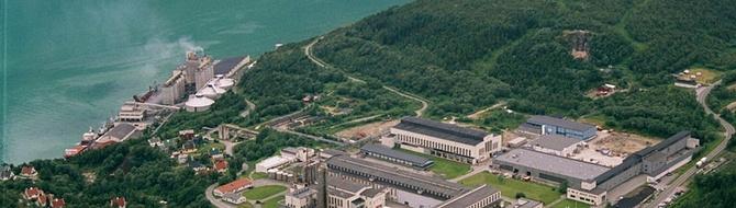 Glomfjord production site