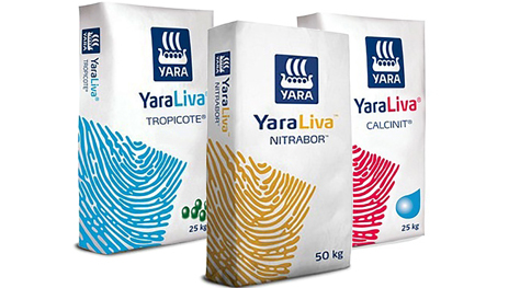 YaraLiva - Kalcium-nitrát műtrágyacsalád