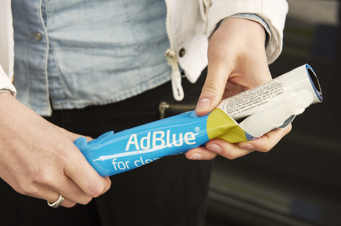AdBlue canister