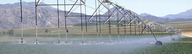 Pivot irrigation system - Yara