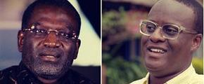 Ousmane Badiane and Eric Kaduru