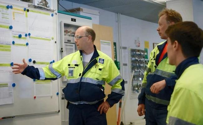Operators in manufacturing site