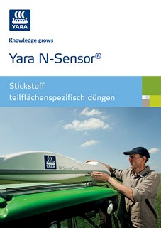 Titel Broschüre N-Sensor