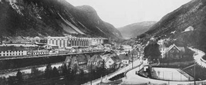 Rjukan, historical picture