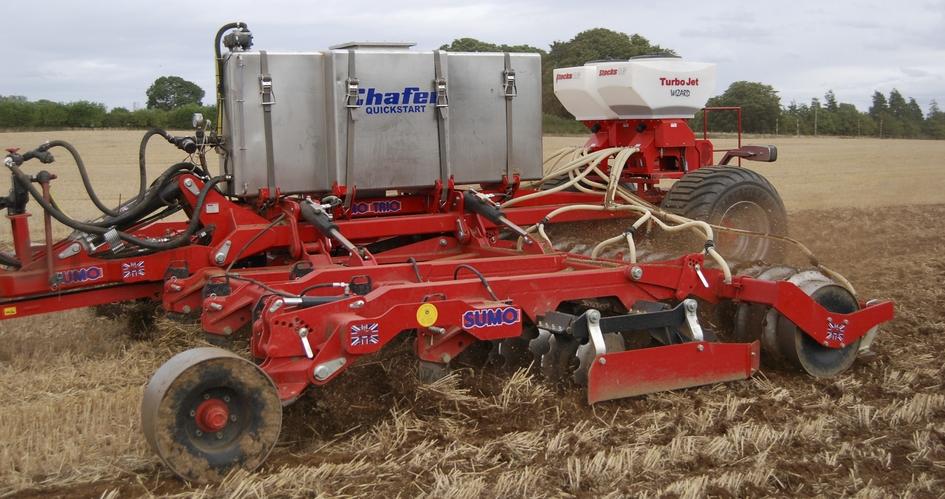 Improve establishment of your oilseed rape with a starter fertiliser