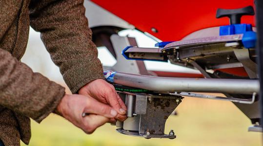 Find the settings for your fertiliser spreader