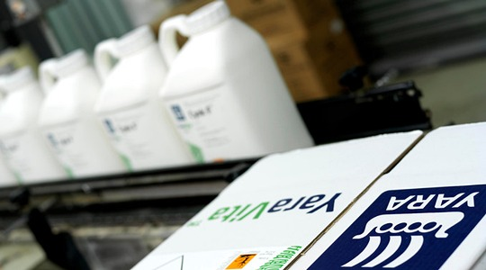 YaraVita-tuotepakkausten kierrättäminen