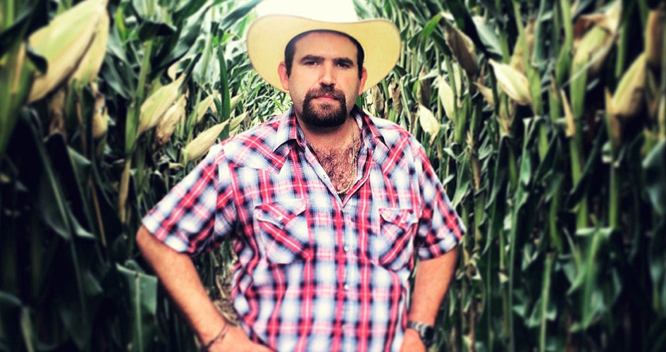 Mexican maize farmer Diego Gil