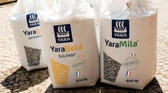 Engrais YaraMila et YaraBela origine France garantie