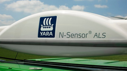 Yara N-Sensor - variable rate nitrogen