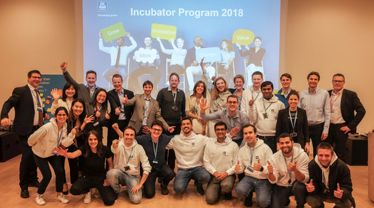 Yara Incubator Program pitch finale participants