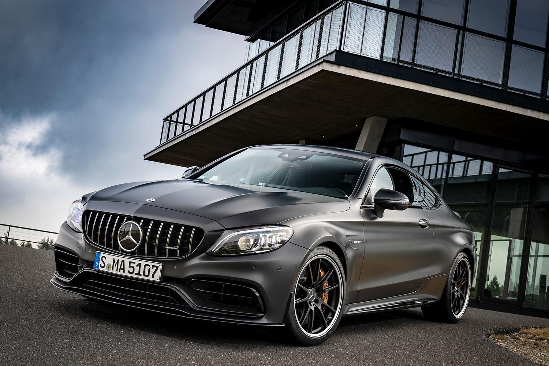 Mercedes c class coupe 2019