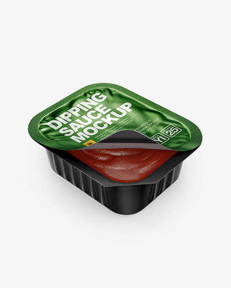Download Tomato Dipping Sauce Mockup (High-Angle Shot) Object Mockups