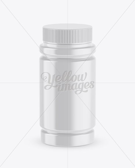 Download Plastic Pill Bottle Mockup In Bottle Mockups On Yellow Images Object Mockups PSD Mockup Templates