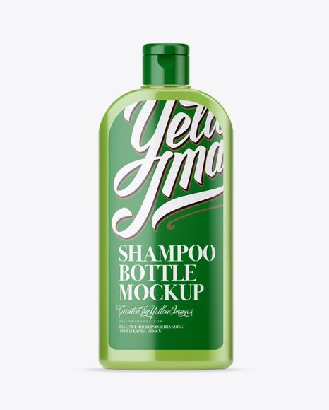 Download Clear Shampoo Bottle Mockup Object Mockups