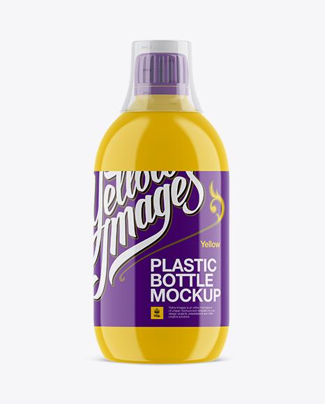 Download Glossy Plastic Sport Nutrition Bottle Mockup Object Mockups
