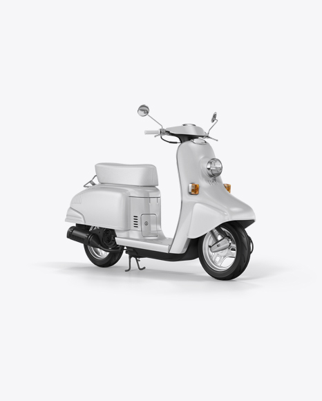 Download Honda Julio Mockup - Halfside View Object Mockups