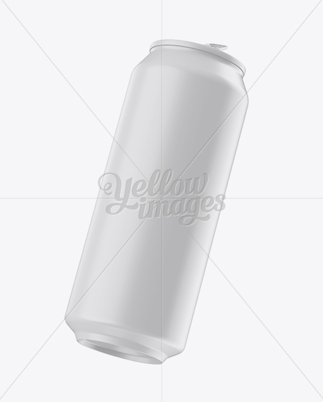 Download Two 500ml Aluminium Cans Matte Finish Mockup PSD - Free PSD Mockup Templates