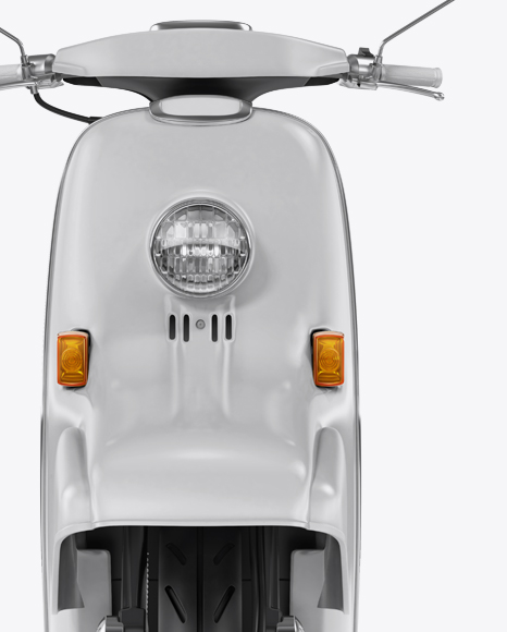 Download Free Honda Julio Mockup - Front View PSD Template