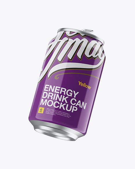 330ml Cans Mockup