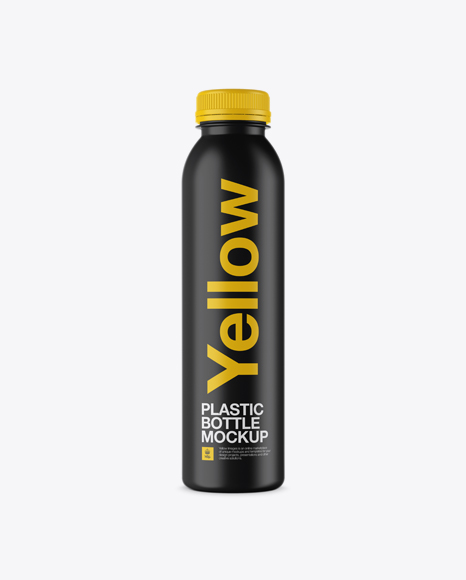 Download Matte Plastic Bottle Mockup Object Mockups