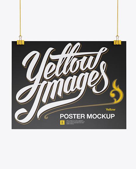 Download A3 Poster Mockup Object Mockups