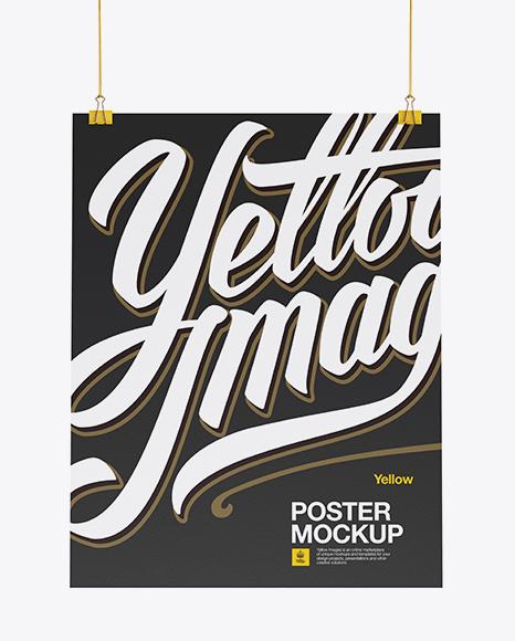 A2 Poster Mockup
