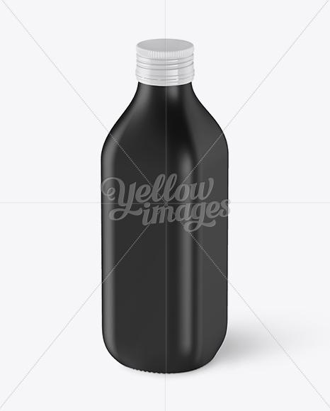 Download Black Matte Whiskey Bottle Mockup In Bottle Mockups On Yellow Images Object Mockups PSD Mockup Templates
