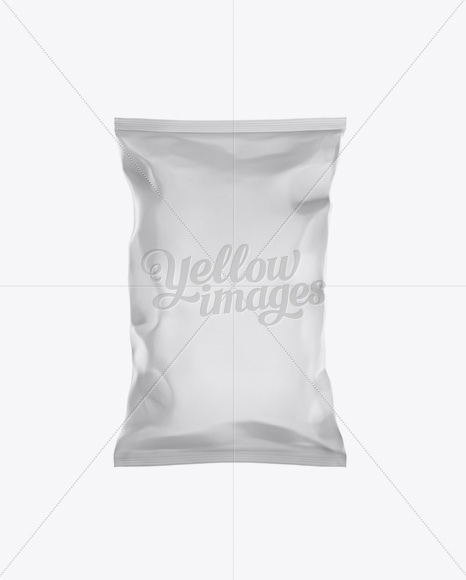 Matte Snack Bag Mockup